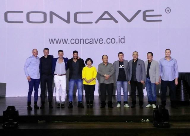Hulk (keempat dari kiri). (Foto: Medcom.id/Kautsar)