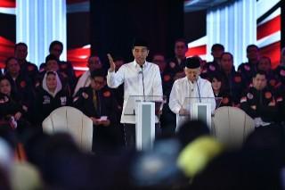 Jokowi Dinilai Menang Telak Debat soal HAM