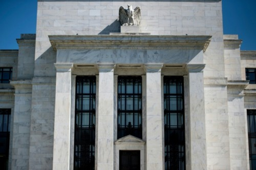 Gedung The Fed (AFP/Brendan Smialowski)