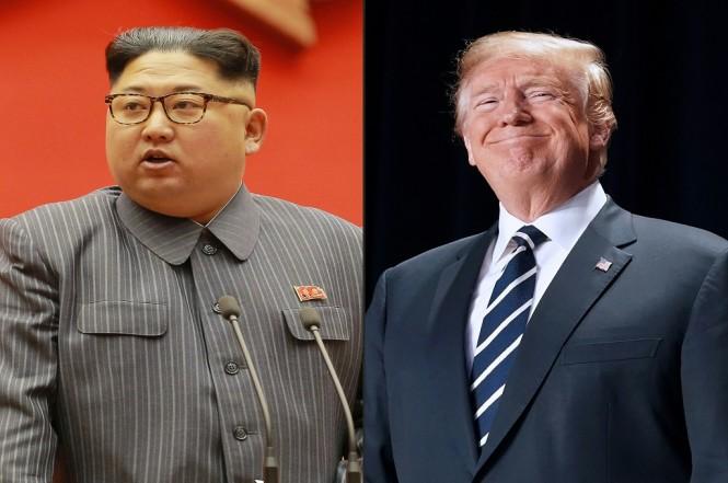 Presiden AS Donald Trump (kanan) dan pemimpin Korut Kim Jong-un. (Foto: AFP/KCNA)