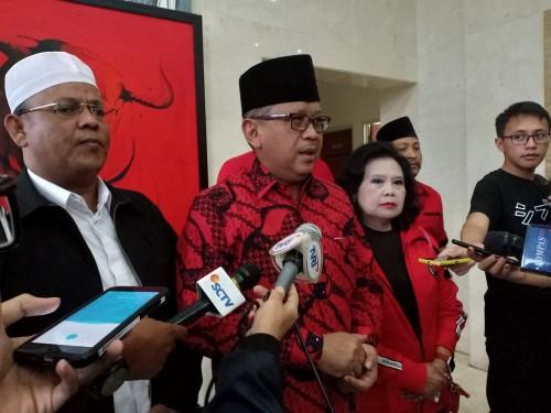 Sekjen PDI-P Hasto Kristiyanto - Medcom.id/Cindy.