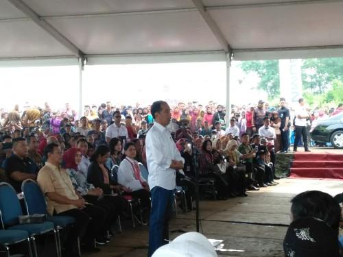 Presiden Joko Widodo memimpin Gerakan Mengawal Musim Tanam
