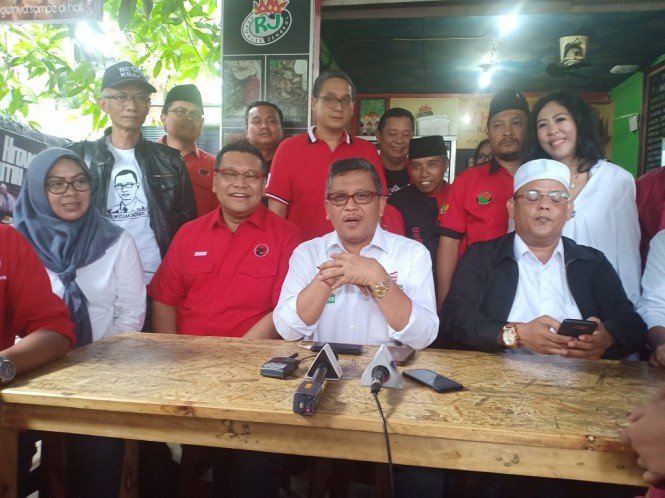 Sekjen DPP PDIP Hasto Kristiyanto - Medcom.id/Cindy.