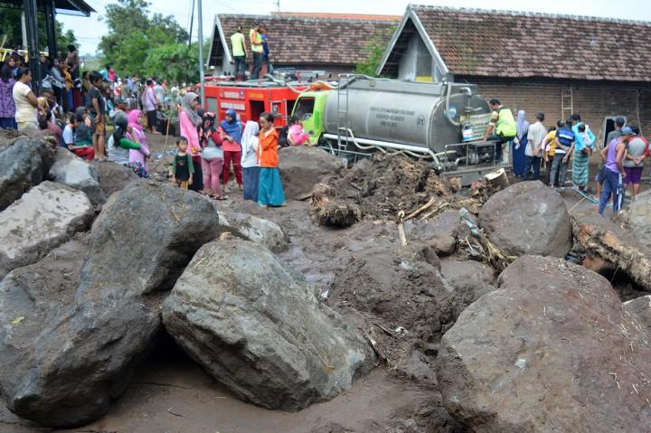 Banjir Bandang Rusak Sejumlah Rumah di Mojokerto