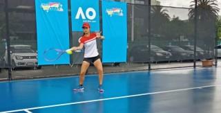Priska Hadapi Wakil Korea pada Babak Pertama Australia Open