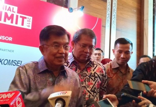 Wakil Presiden jusuf Kalla - Medcom.id/Suci Sedya Utami.
