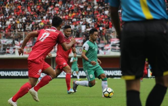 Jalannya celebration game PSS Sleman melawan Persis Solo di Stadion Maguwoharjo Sleman. (Foto: Medcom.id/Ahmaf Mustaqim)