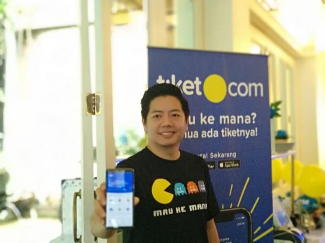 Chief Marketing Officer Tiket.com Gaery Undarsa. Medcom/ Nia Deviana
