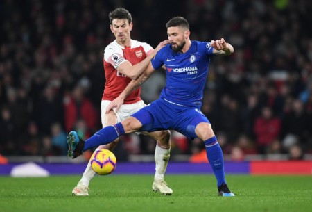 Arsenal Superior di Derbi London kontra Chelsea