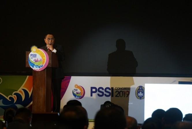 Ketua Umum PSSI Edy Rahmayadi (Medcom/Kautsar Halim)