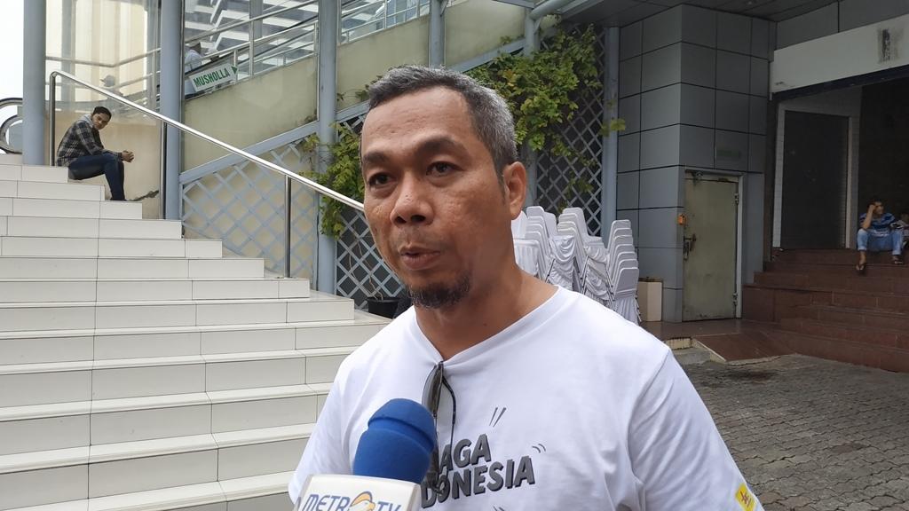 Juru Bicara Tim Kampanye Nasional (TKN) Usman Kasong. (Medcom.id/Ilham PP)