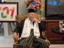 Ma'ruf Amin Optimistis Menang di Bandung Raya