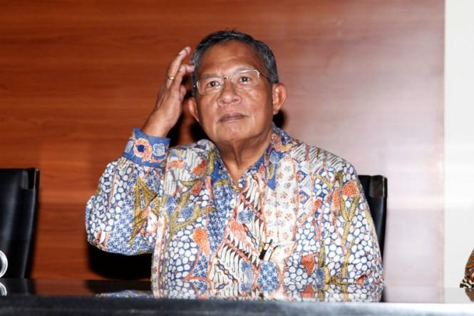 Menteri Koordinator Bidang Perekonomian Darmin Nasution. MI/Irfan.