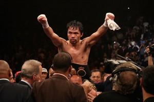Pacquiao Pertahankan Gelar Juara Welter WBA