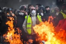 Demo Rompi Kuning Prancis Masuki Pekan ke-10