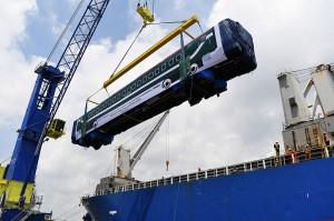 PT INKA Kirim 15 Gerbong Kereta ke Bangladesh