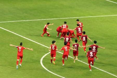 Menang Adu Penalti, Vietnam Lolos ke Perempat Final