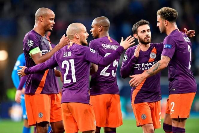 Manchester City (Foto AFP/THOMAS KIENZLE)
