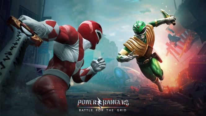 Power Rangers: Battle for The Grid.