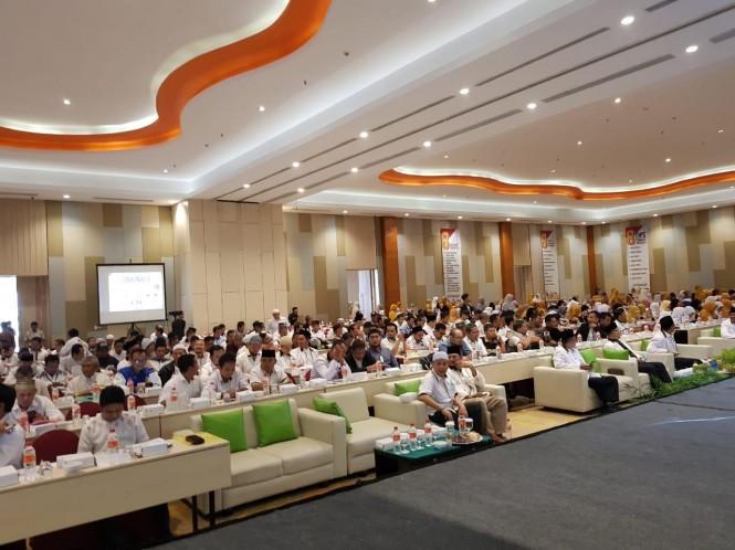 Suasana workshop pemenangan pemilu PKS bertema `Grounded Special Program (GSP) for Politics and Election Konsolidasi Pemenangan Hati Rakyat dalam Pemilu 2019` yang digelar di Samarinda.