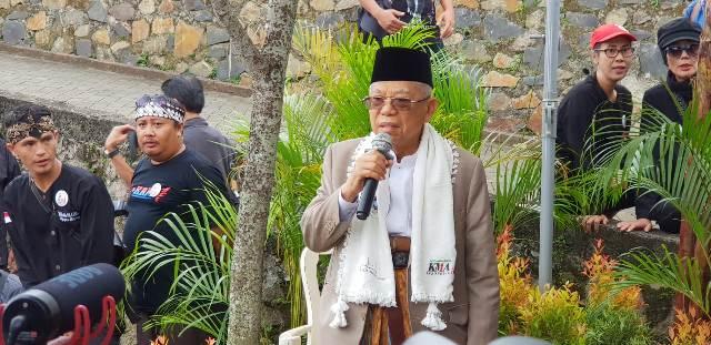 Calon wakil presiden Ma'ruf Amin. Foto: Istimewa