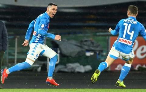Callejon dan Milik Bantu Napoli Bekap Lazio