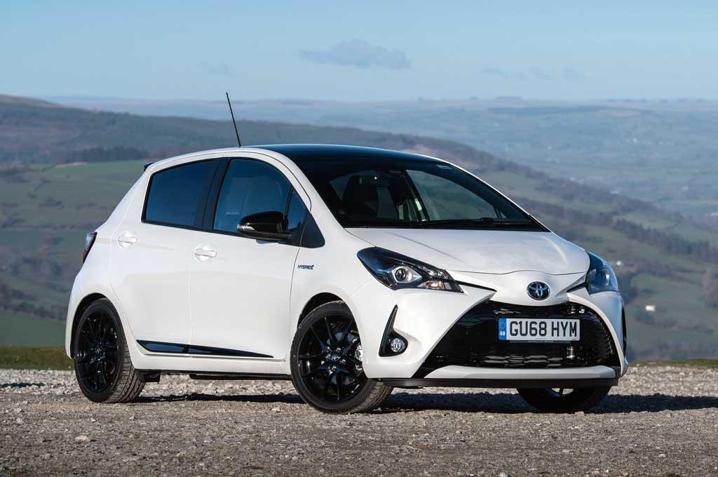 Toyota Yaris 2019 mengaspal di Inggris. Carscoops