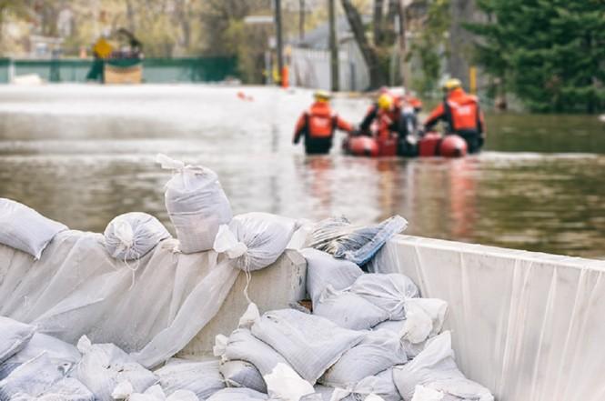 Ilustrasi banjir. (Foto: Medcom.id)