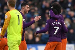 City Gilas Huddersfield Tiga Gol Tanpa Balas