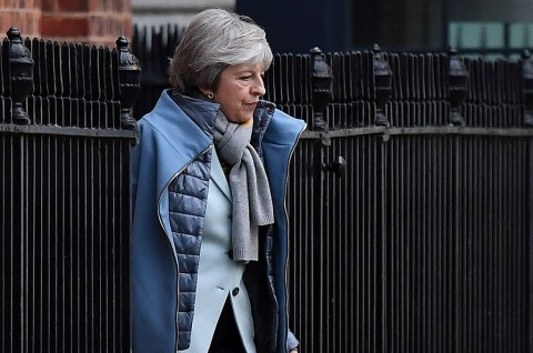 PM Inggris Kenalkan 'Plan B' Brexit