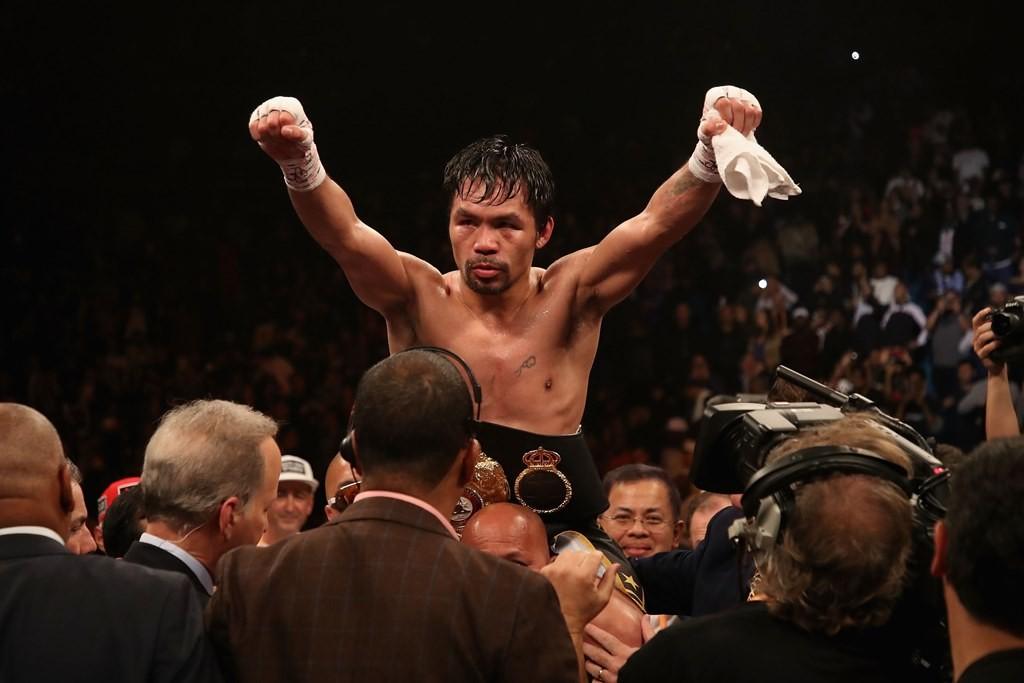 Manny Pacquiao. (Foto: AFP/Christian Petersen)