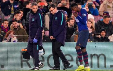 Barcelona Dapat Kabar Buruk dari Dembele