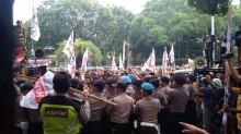 Ratusan Simpatisan Hanura Demo KPU