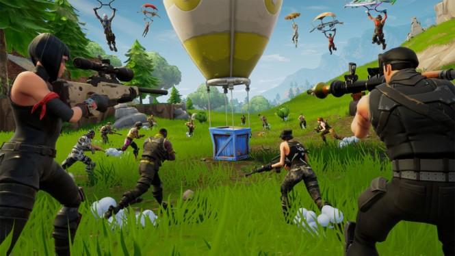 Fortnite jadi game gratis yang paling populer dan mengantongi pendapatan terbesar di 2018.