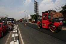 380 Ribu KM Jalan Daerah bakal Gunakan Aspal Karet