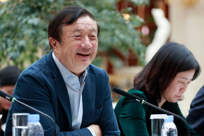CEO dan Pendiri Huawei, Ren Zhengfei. (Photo by HANDOUT / HUAWEI / AFP)