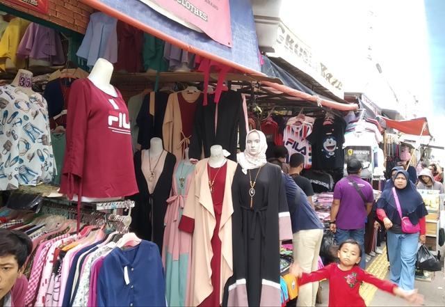 Suasana kawasan pasar Tanah Abang di Jalan Jati Baru, Jakarta Pusat--Medcom.id/Nur Azizah