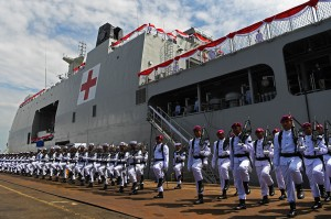 PT PAL Serahkan Kapal Perang RS kepada TNI AL