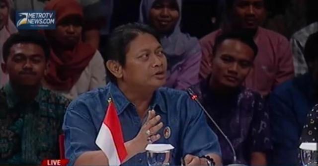 Juru bicara Tim Gabungan kasus Novel Baswedan, Hermawan Sulistyo. Foto: Metro TV