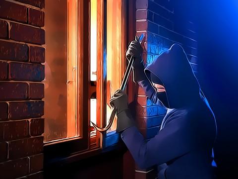 Polsek Limo Tangkap Residivis Pencuri Rumah Kosong