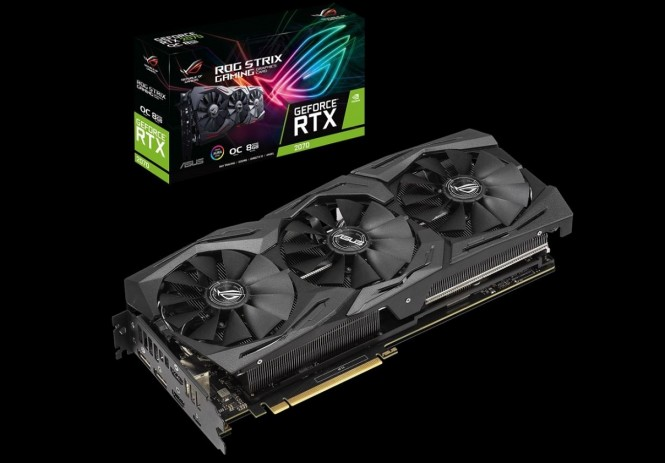 ASUS ROG Strix GeForce RTX 2070 8G Gaming OC.