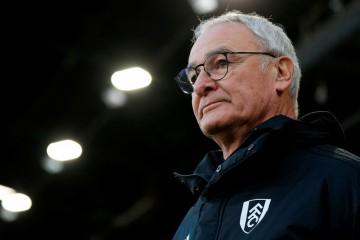 Pelatih Fulham, Claudio Ranieri (AFP/Adrian Dennis)