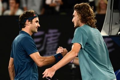 Australia Open 2019: Bangganya Tsitsipas Menyingkirkan Roger Federer