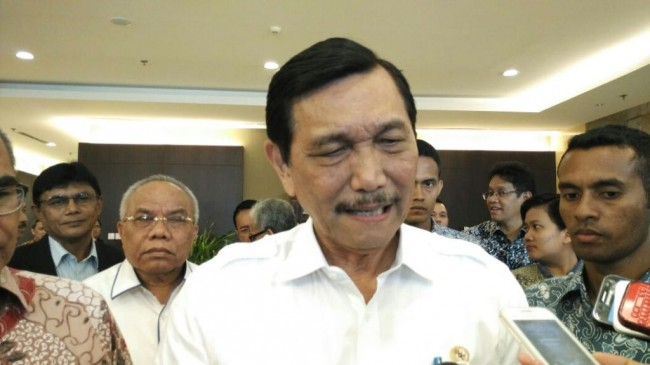 Coordinating Minister for Maritime Affairs Luhut Binsar Pandjaitan (Photo: Medcom.id/Annisa)