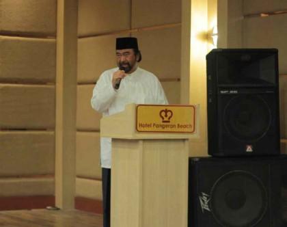 Surya Paloh Lantik Ketua DPW NasDem Bengkulu