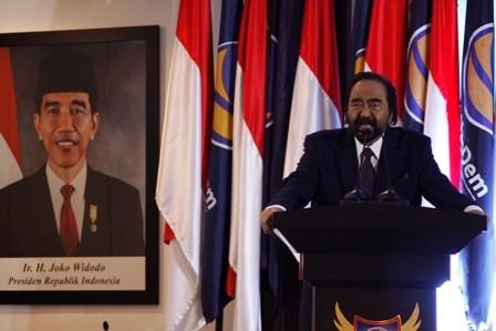 Ketum NasDem Surya Paloh/MI/Bary Fathahilah