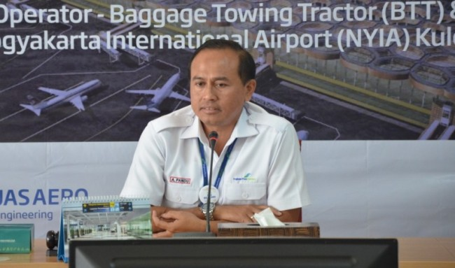 PT Angkasa Pura I Yogyakarta general manager Agus Pandu Purnama (Photo: Medcom.id/Patricia Vicka)