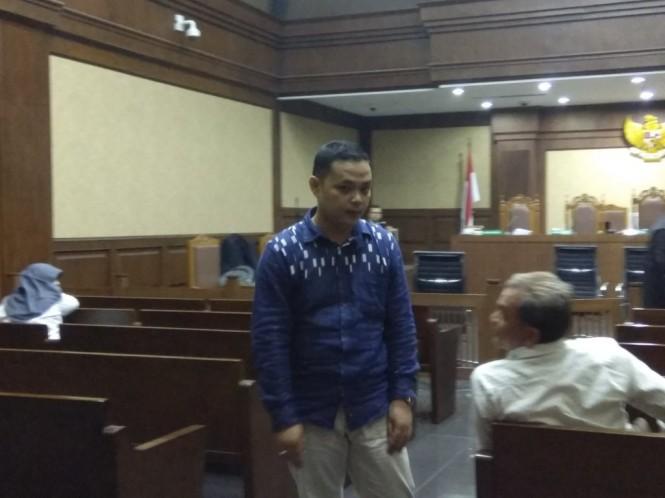 Konsultan Eka Kamaludin yang terlibat suap dituntut 5,5 tahun penjara. Foto: Medcom.id/Fachri Audhia Hafiez.