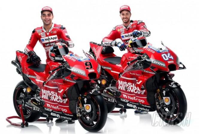 Andrea Dovizioso dan Danilo Petrucci. (Foto: Crash)