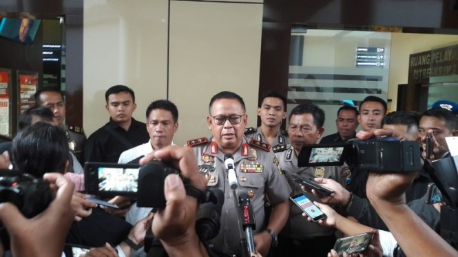 Kapolda Jatim, Irjen Pol Luki Hermawan. (Medcom.id/Amal). (Amaluddin)
